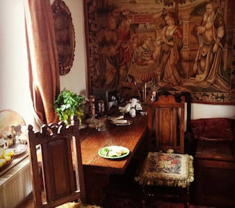 4 poster antique double w. tapestry - Sheffield - Appartamento
