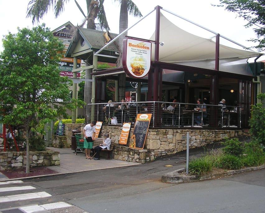Buderim village cafes