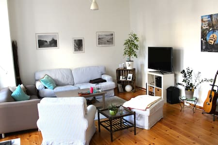 Lovely big flat with garden