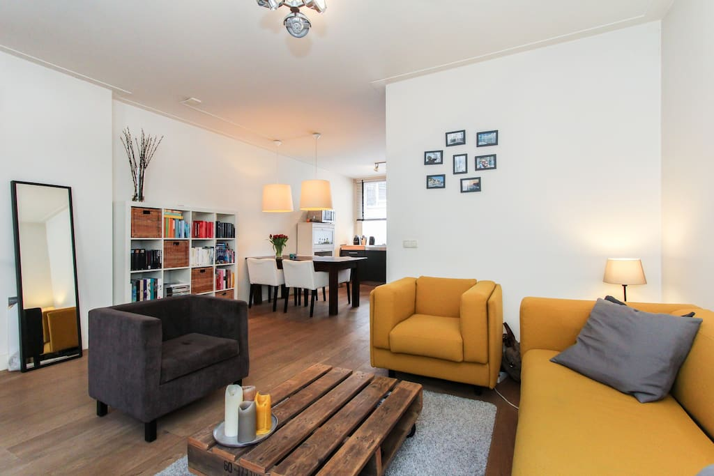 Romantic apartment with garden