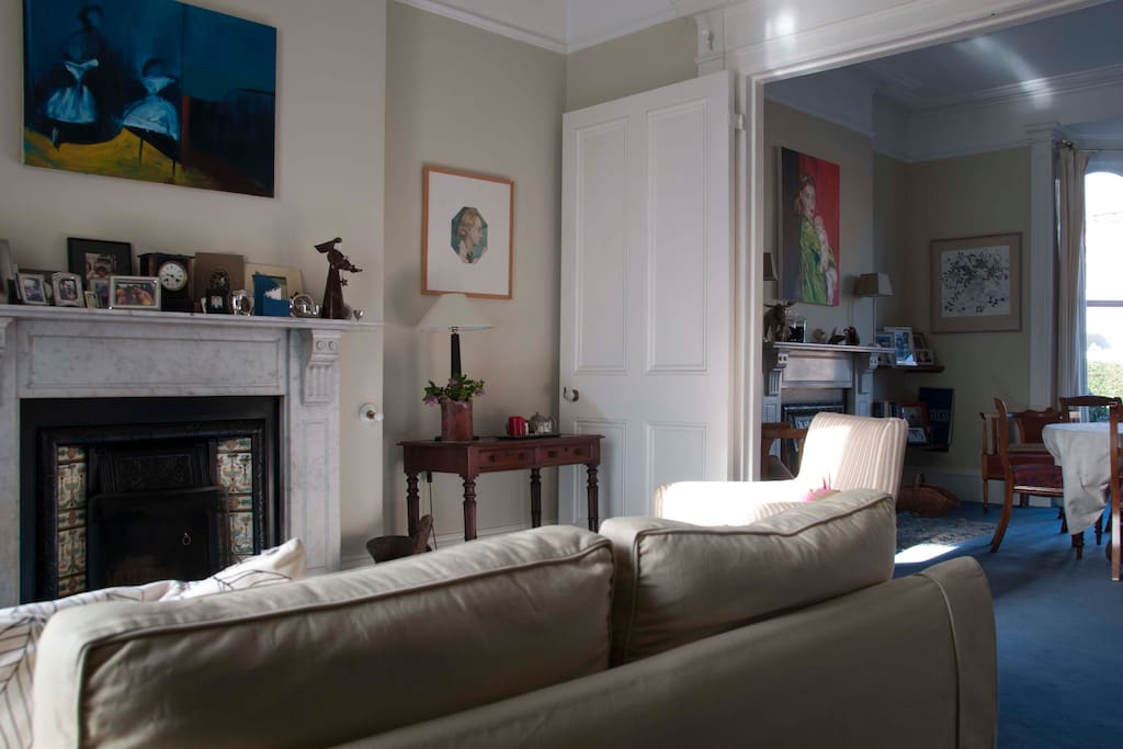 comfortable sitting rooms