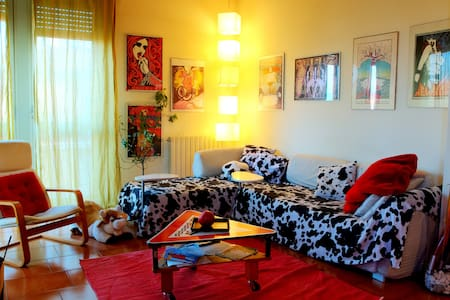 Countryside cozy and colorful flat - Wohnung