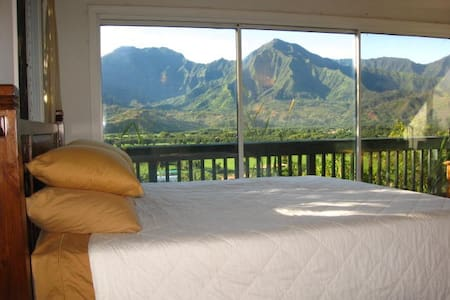 Hanalei Vista: Million Dollar View! - Appartement