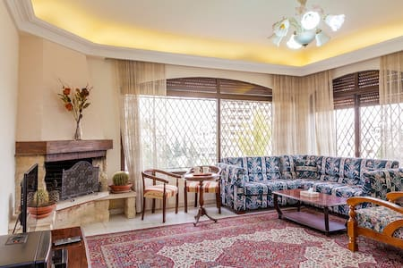 A fully furnished and comfortable apartment located close to the center of Amman with proximity to its major attractions. Run by the owner and his family,you would surely enjoy very warm and hospitable atmosphere with nice and friendly surrounding.