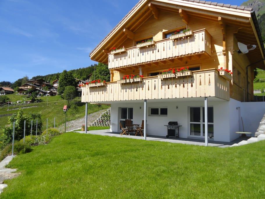 Wow! Best views in Wengen! New 2 bedroom apartment