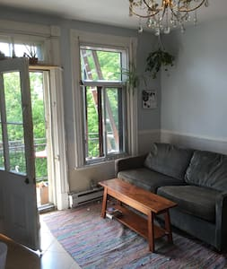 Mile End Beautiful Private room - Montréal - Bed & Breakfast
