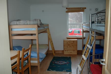 Loch Voil Hostel dorm beds - Sala sypialna