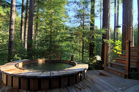 Luxury Compound in the Redwoods with outdoor spa - Dom