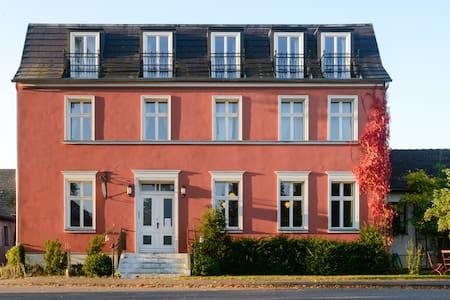 FUCHSBAU - wunderschönes Landhaus - kleine Gruppe - Rumah