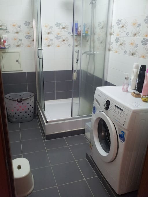 Washing and shower room