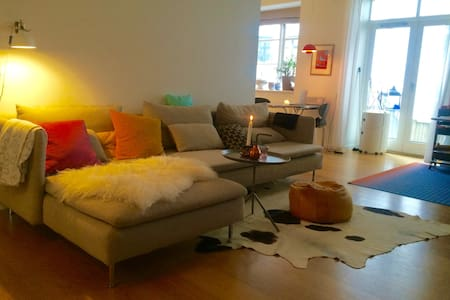 Appartement with cosy private yard - Copenhagen - Apartment