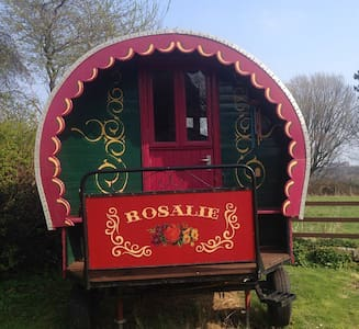 """Rosalie"" the gypsy caravan.... - North Yorkshire - Yurt"