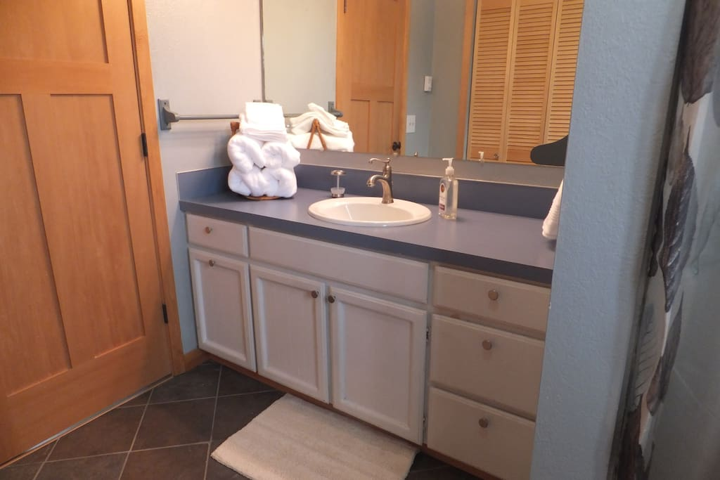 Bathroom w/shower