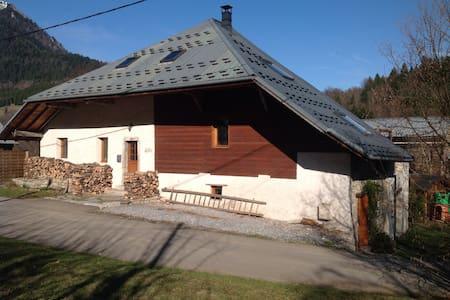 Maison Glaces & Cows: Ferme à Tamié - Plancherine - Chalet