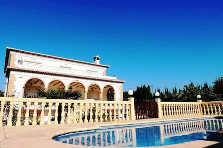 Great Villa, A/C, Pool, Wifi - Jávea