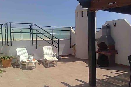 atico con piscina privada - Playas de Vera - Wohnung