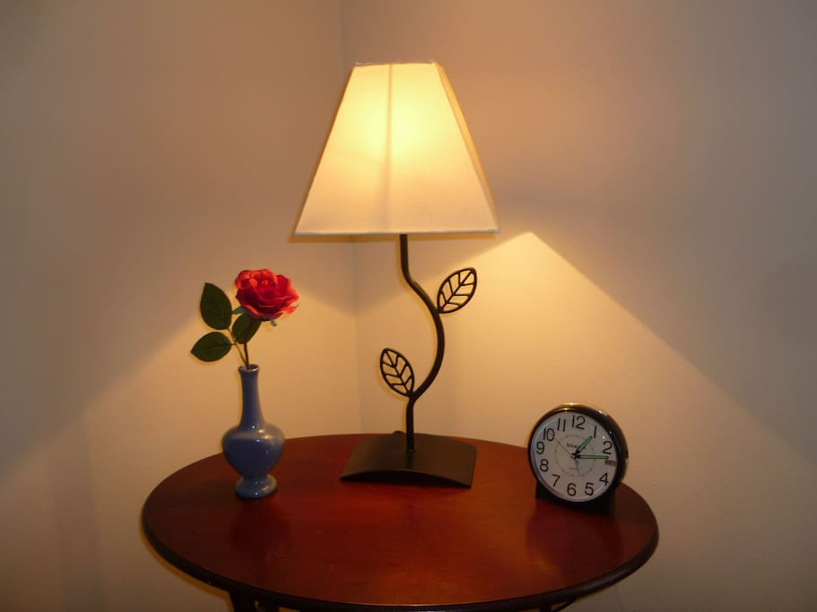 Bed-side table lamp