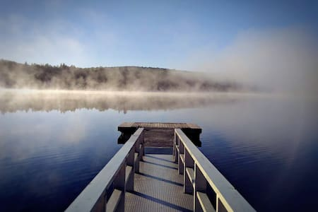 面對雷米湖、靠近國家公園。Face Lac Rémi, near Mont Tremblant. - Vendégház