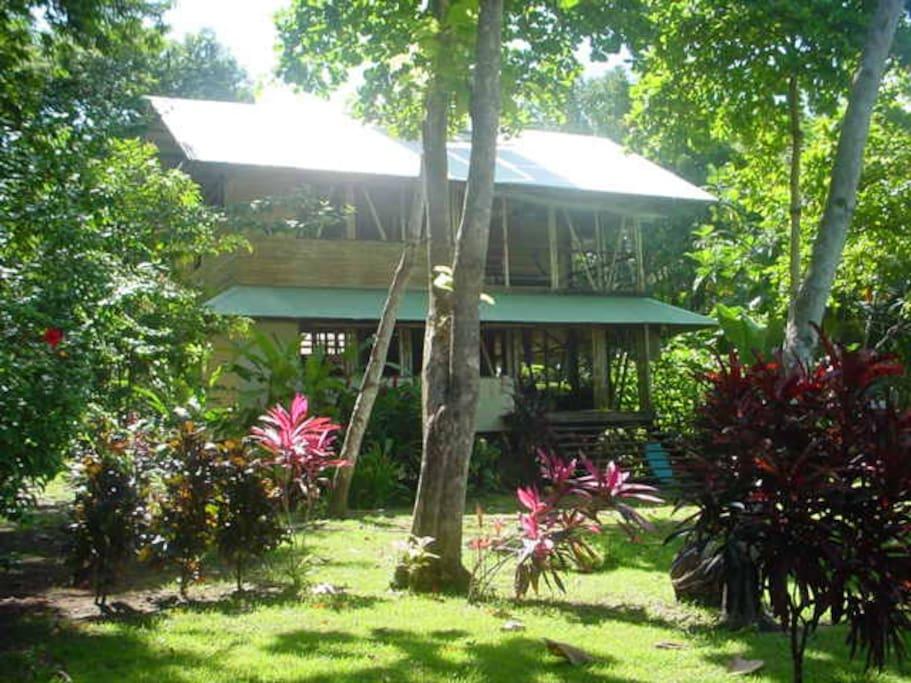 Another view of Casa Bambu