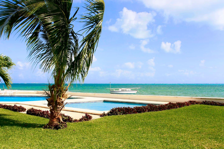 Enjoy the Caribbean Sea!