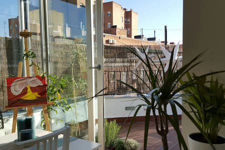 Penthouse w Terrace Madrid Centre A/C in All Rooms - Apartment