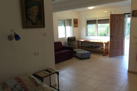 Beautiful quiet apartment in Ramot Menashe - Lakás