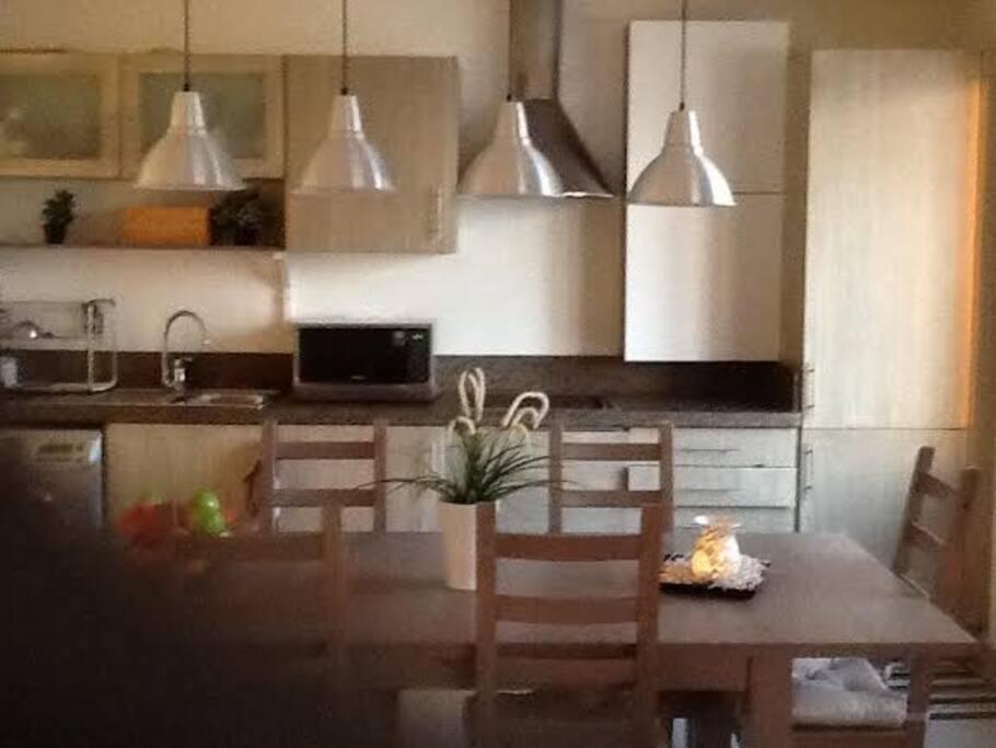 Beautiful dinning table.