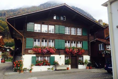 Charming Swiss Chalet/Ferienwohnung - Wilderswil - Chalet