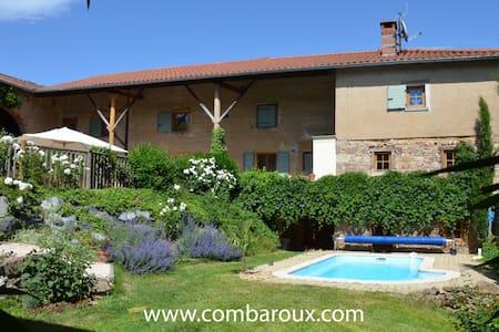 Clos de Combaroux - Gite 4-6 pers - Saint-Laurent-de-Chamousset - Haus