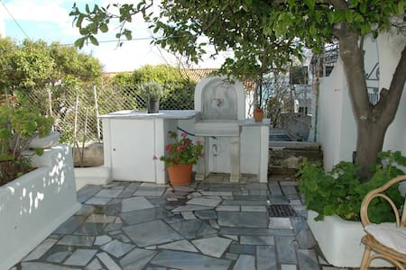 Small studio in the center of Tinos - Flat