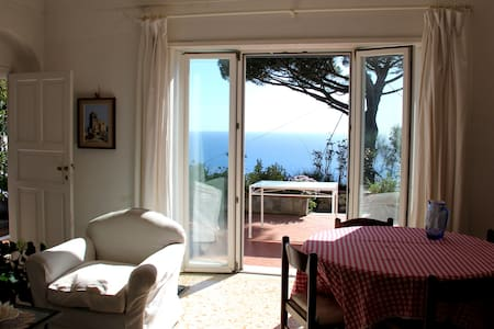 Villetta  Rosetta, vista mare con giardino - Villa