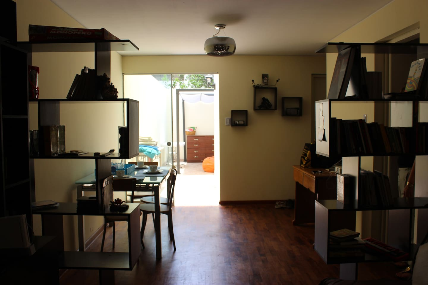 2BD at artist house in San Isidro