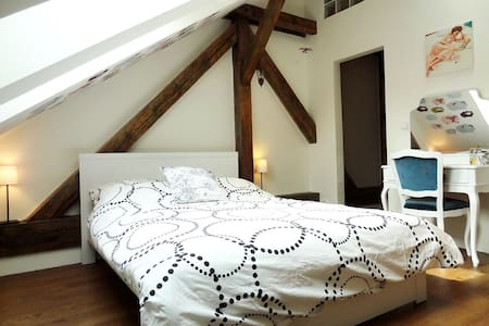 Cozy attic apartment for 4 persons - Prague