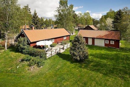 Gemütliches Ferienhaus in der Natur - Haninge  - Cabin