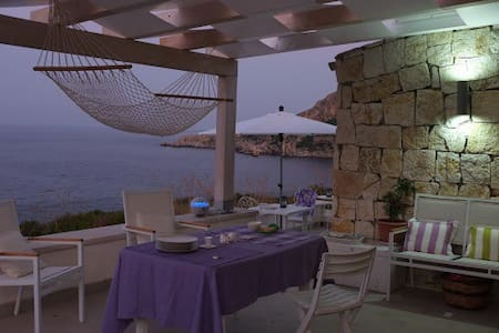 OVER THE SEA: Cosy TANGO Chalet, Sicily NW S.Vito - San Vito Lo Capo - Chalet