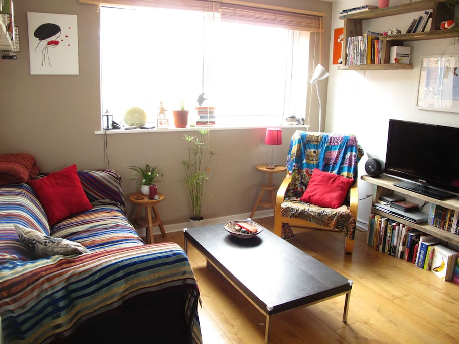 Oxford flat with parking and garden