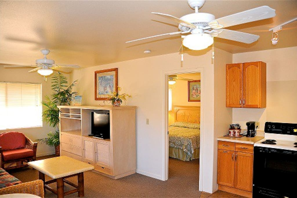 1 bedroom suite w/kitchen