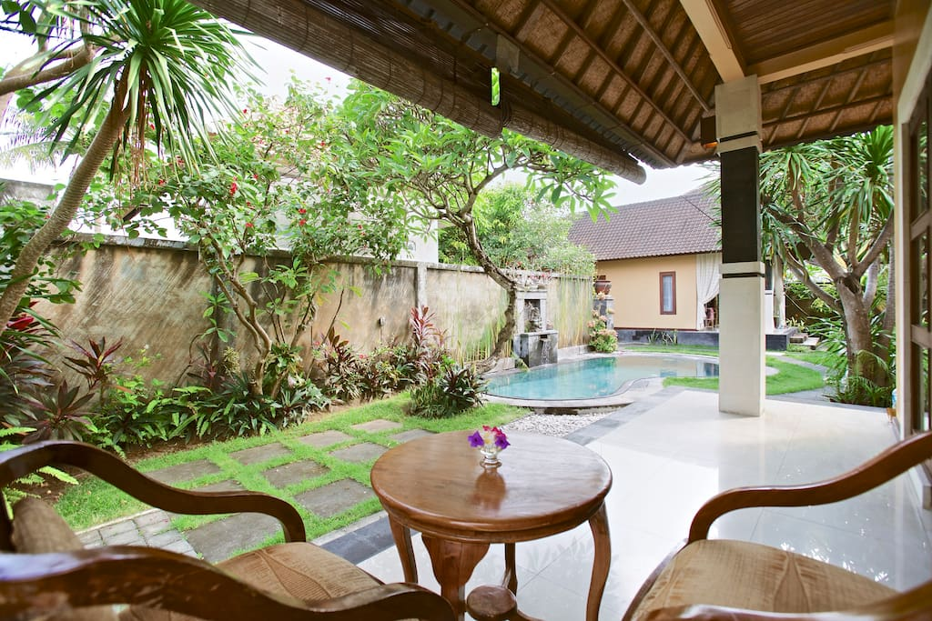 Villa with 4 bedrooms & pool, Sanur
