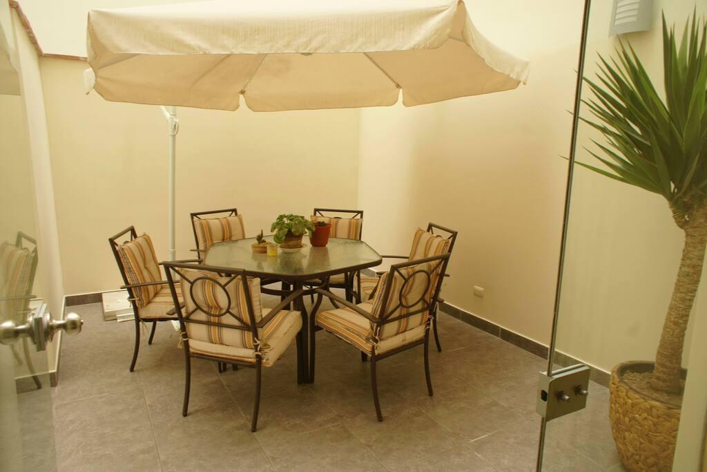 Private Terrace 20sqmeters