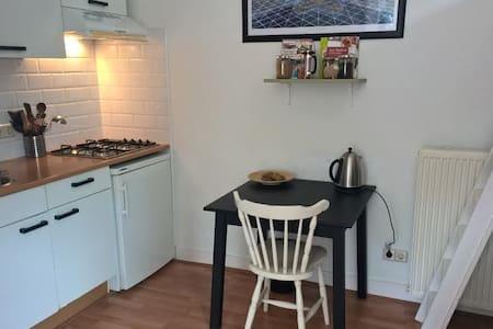 Knus appartement in Deventer met gebruik van tuin. - Társasház
