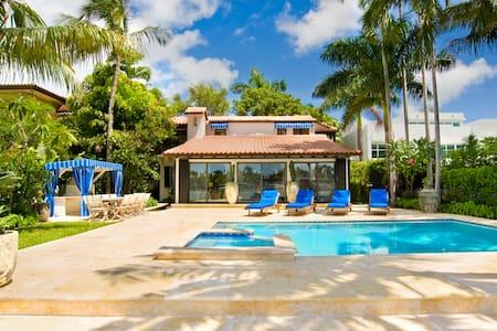 Wonderful waterfront Mansion in South Beach - Villa