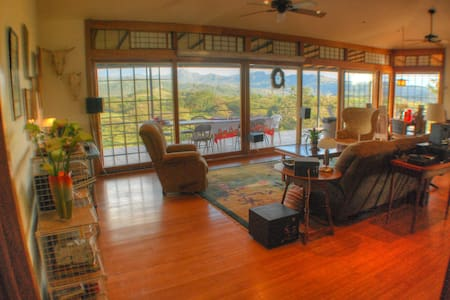 Incredible Mountain View-Private 2Bdrm Suite-Quiet - Hus