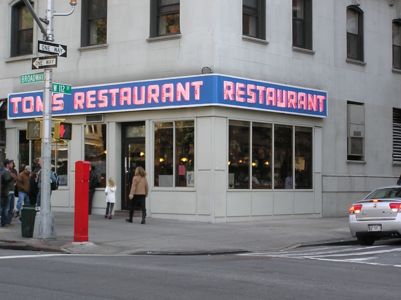 Famous Seinfeld Diner 4 blocks away