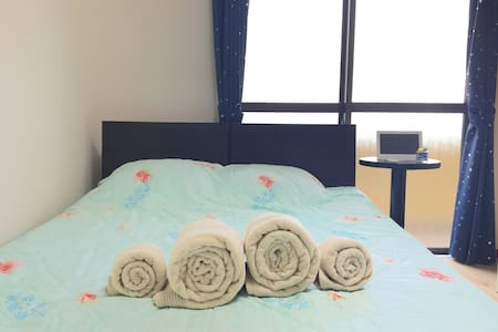 Clean Room with Free Wifi! Near Sta - Fukuoka-shi - Apartment
