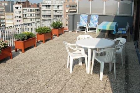 Meernahes Appartment mit 2 großen Terrassen - Apartament