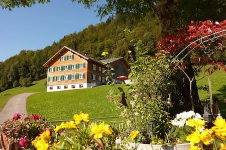 Geräumige südseitige Ferienwohnung - Társasház