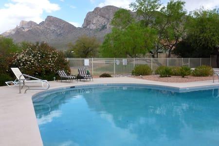 Mtn views, pool, breakfast, hot tub - Oro Valley - Ház