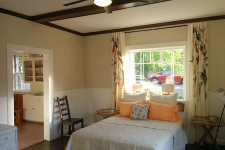 Private apartment (w/kitchen) a block from plaza. - Ashland - House