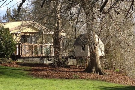 Cosy Independent Farm Cottage 40 mins Auck Airport - Mercer - Huis