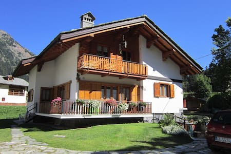 COMFY APARTMENT NEAR SAVOY CASTLE - Gressoney-Saint-Jean - Wohnung